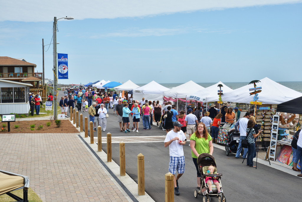 Kure Beach Village   Welcome to Pleasure Islands' little